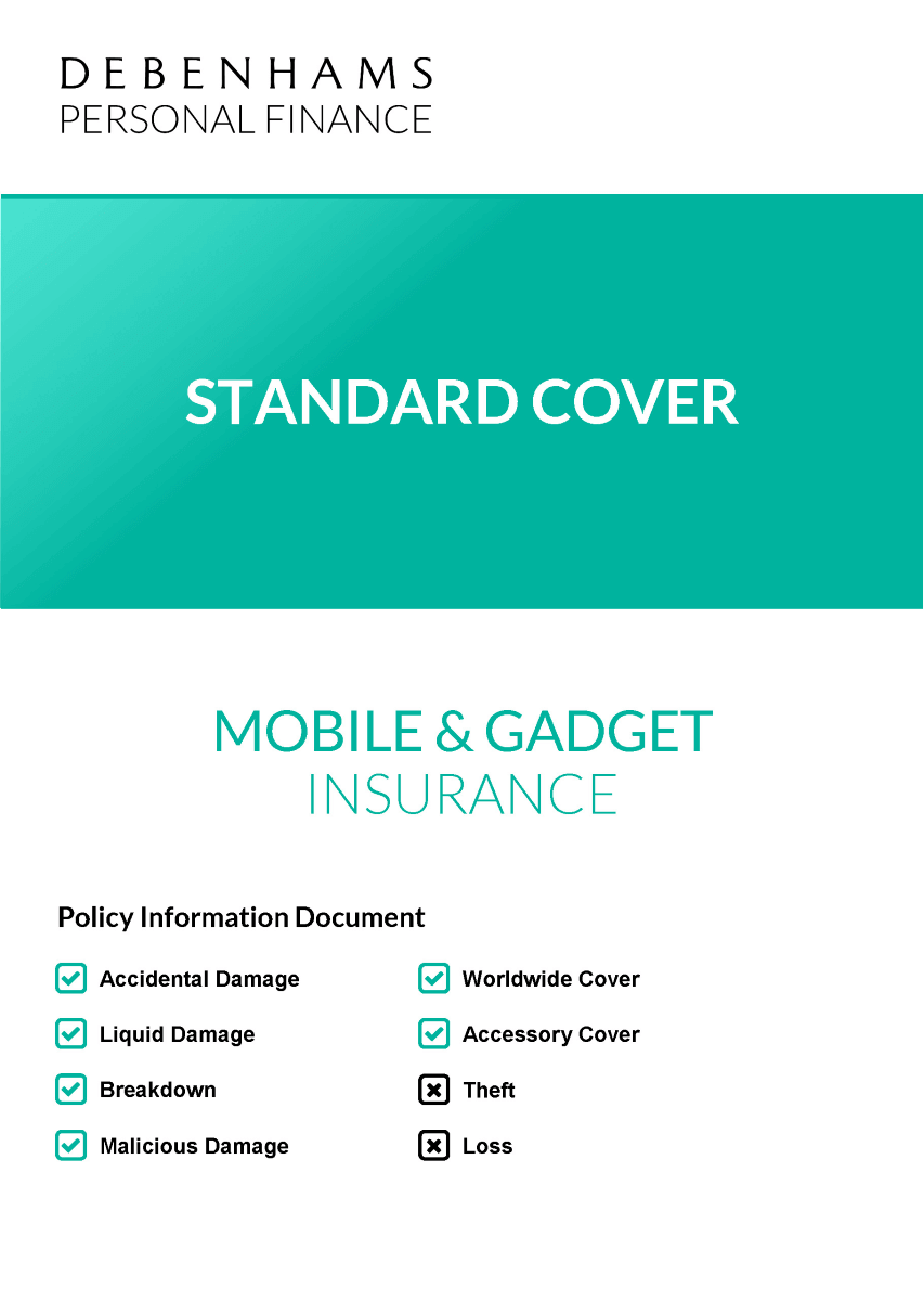 Policy Document - Standard Cover