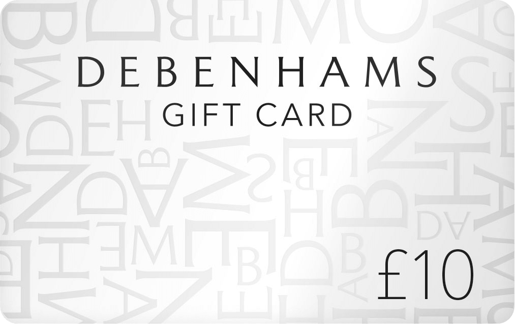 Free Debenhams Gift Card